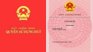 cap giay chung nhan quyen su dung dat lan dau 360x200 - Trình  Thủ tục cấp Giấy chứng nhận quyền sử dụng đất (Sổ đỏ) lần đầu