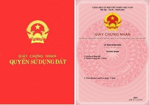 cap giay chung nhan quyen su dung dat lan dau 500x350 - Trình  Thủ tục cấp Giấy chứng nhận quyền sử dụng đất (Sổ đỏ) lần đầu