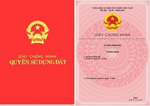 cap giay chung nhan quyen su dung dat lan dau - Trình  Thủ tục cấp Giấy chứng nhận quyền sử dụng đất (Sổ đỏ) lần đầu