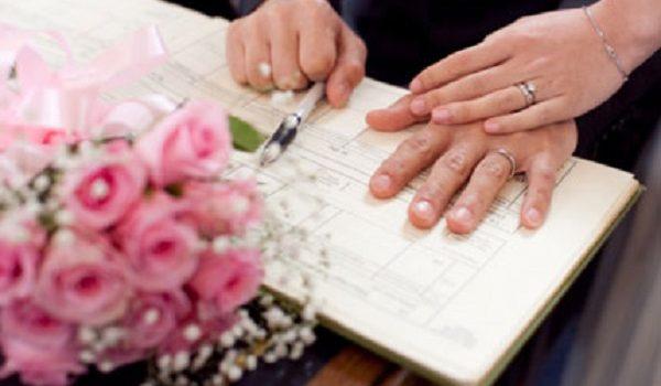 dang ky ket hon 600x350 - Không có Sổ Hộ khẩu đăng ký kết hôn được không?