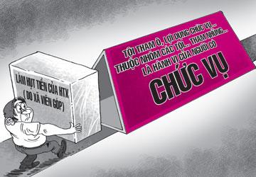 loi dung chuc vu quyen han - Tội lạm dụng chức vụ, quyền hạn gây ảnh hưởng đối với người khác để trục lợi
