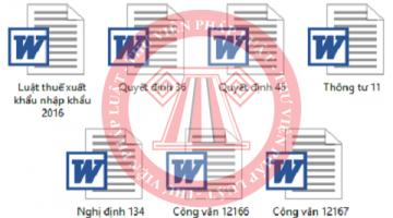 xuatnhapkhau 360x200 - Hệ thống văn bản pháp luật về Thuế Xuất – Nhập khẩu 2018.